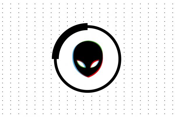 Alien Moto branding marca