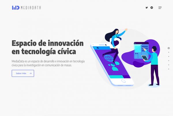 MediaData espacio innovación en tecnología cívica