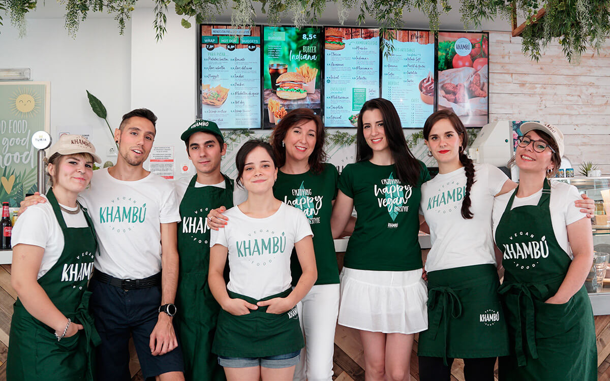 Khambu vegan Valencia equipo