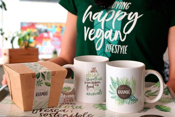 Khambu vegan branding Valencia