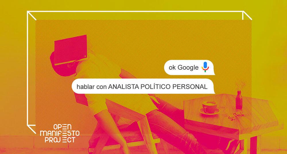 Open Manifesto Project estandar programas electorales rendicion cuentas ciudadania